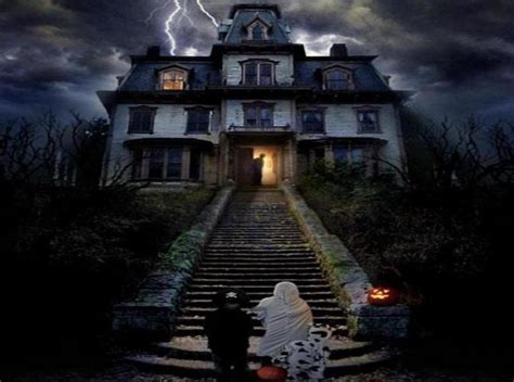 set the scene for a haunted mansion halloween party halloween in la haunted houses and mazes neon tommy