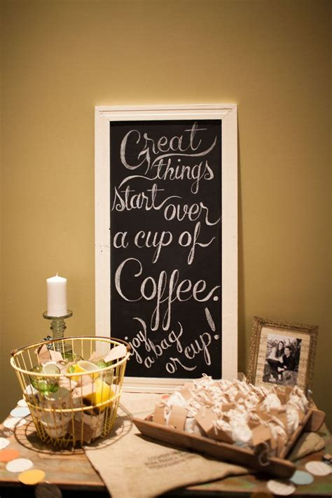 coffee cup bags  coffee  favors coffee wedding