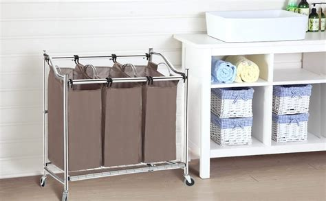 3 Bin Laundry Sorter Cube Sierra Laundry Neat And Tidy Three Bin Laundry