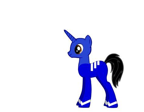 T 46 Blue Pony t j pony blue version by dorothy64116 on deviantart