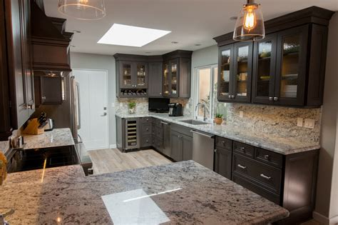 Kitchen Cabinets Ventura County by Dynasty Loring Cherry Smokey Kitchen Los