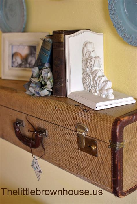 How To Make A Suitcase Shelf by Diy Furniture Ideas Turning Suitcases Into Fancy