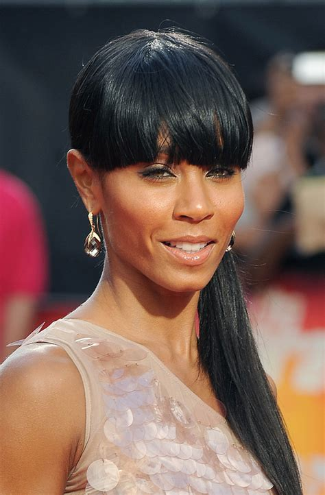 ponytails for a line cuts pictures best haircuts for long faces jada pinkett