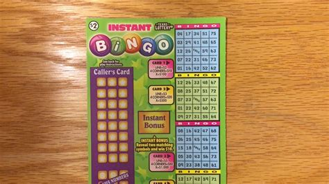 Instan Bergo new ticket 1x instant bingo tx lottery scratch