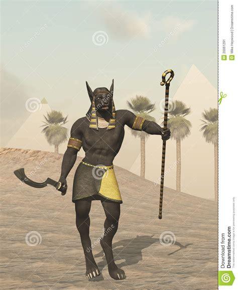 imagenes egipcias de anubis dios egipcio de anubis de los muertos stock de ilustraci 243 n