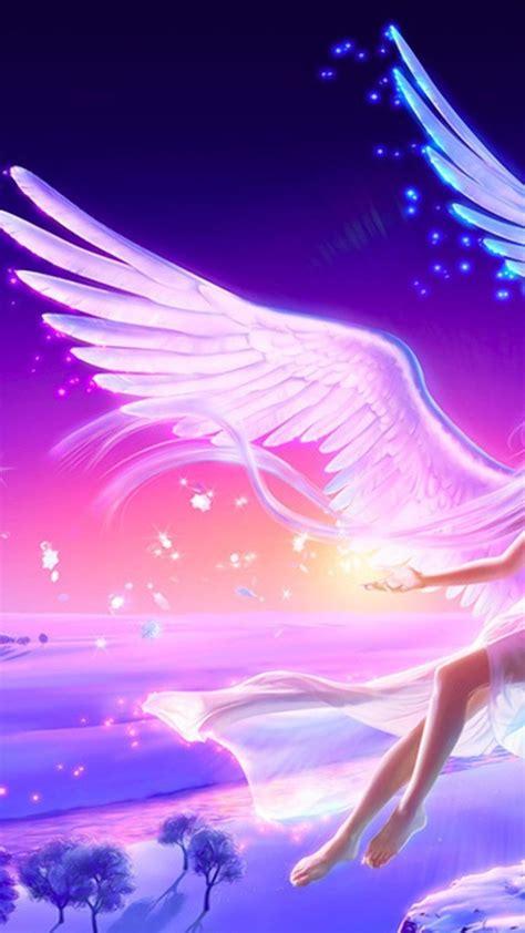 anime girl  beautiful guardian angel