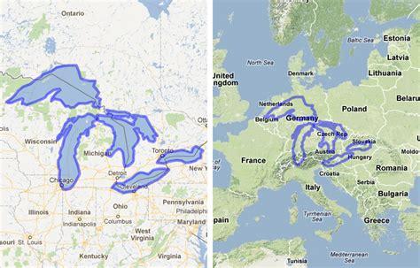 lakes map mapfrappe canada
