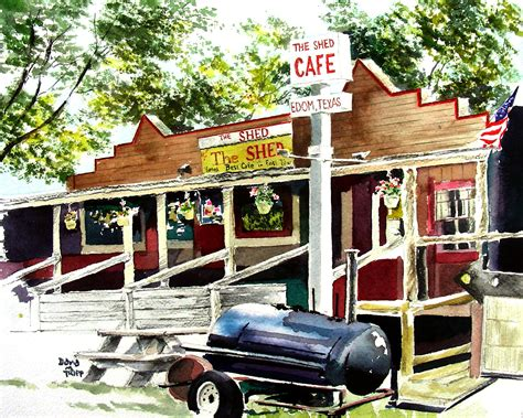 The Shed Cafe by Edom Arts And Crafts Festival