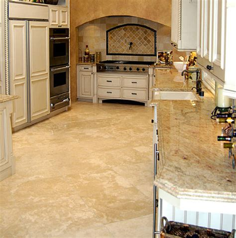 Kitchen Travertine Travertine Kitchen Floor