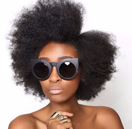 hair cut with a defined point in the back 31 of the best afro hairstyles from pinterest