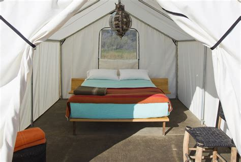 bedroom tent steal this look tent bedroom at el cosmico in marfa