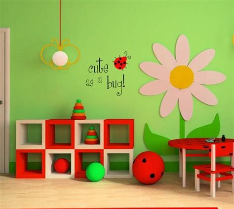 ladybug bedroom ideas ladybug lady bug wall decal cute as a bug by
