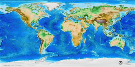 noaa maps etopo1 global relief ncei