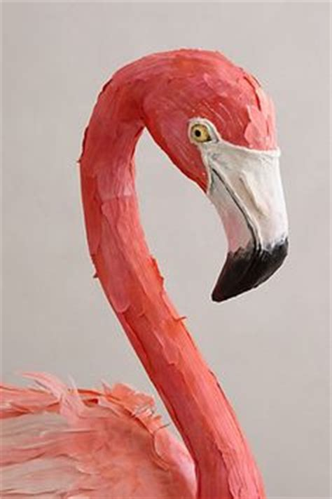 How To Make A Flamingo Out Of Paper - 1000 images about paper mache on paper mache