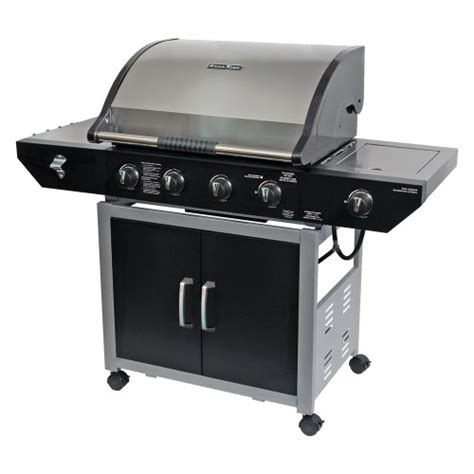 the brinkmann corporation 810 3412 d grill king 4 burner gas grill outdoorandabout com