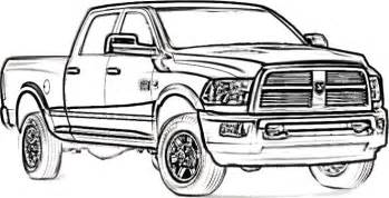dodge truck coloring pages dodge longhorn truck coloring page stuff