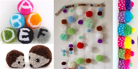 craft project 38 pom pom crafts and diys diy projects for