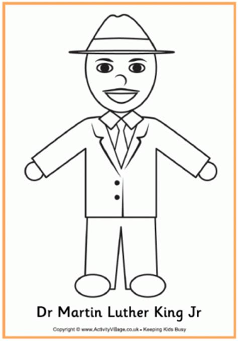 dr king coloring pages printable martin luther king colouring page