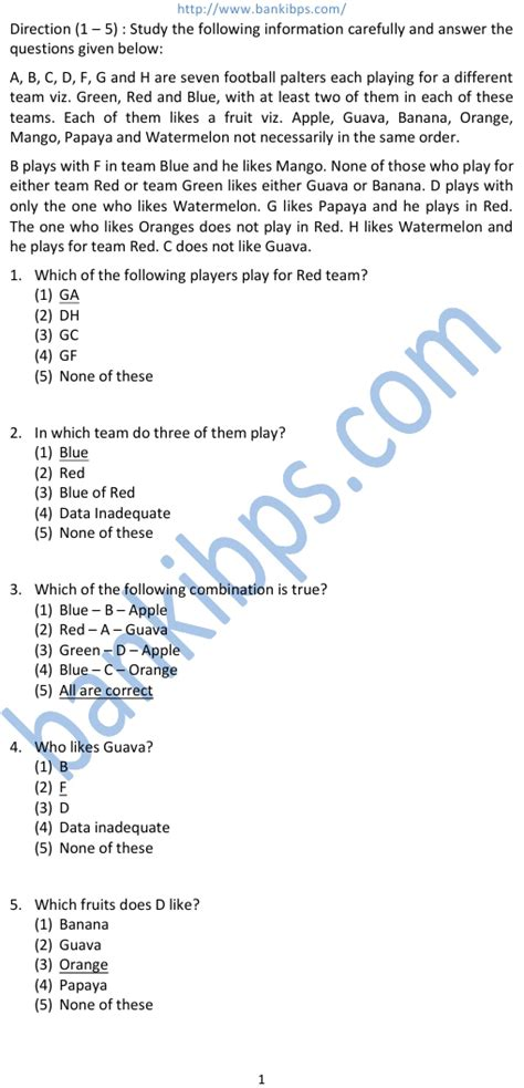 paper pattern ibps clerk 2015 ibps clerical exam question papers
