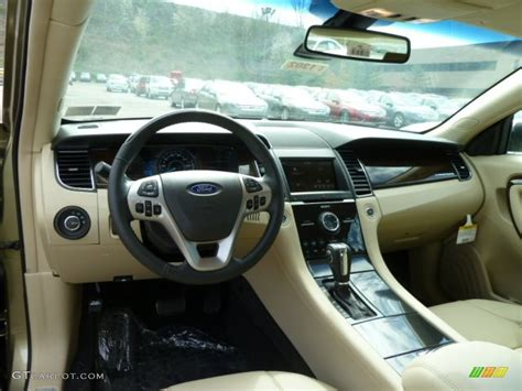 2013 Ford Taurus Limited Interior by 2013 Ford Taurus Limited Awd Dune Dashboard Photo