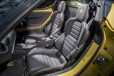 Alfa Romeo 4c Interior by The Alfa Romeo 4c Spider 50th Anniversary Limited Edition