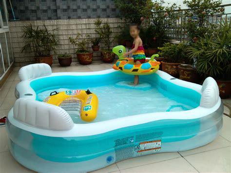 New Kolam Intex Swim Cwnter Family intex family lounge pool swim center pool free