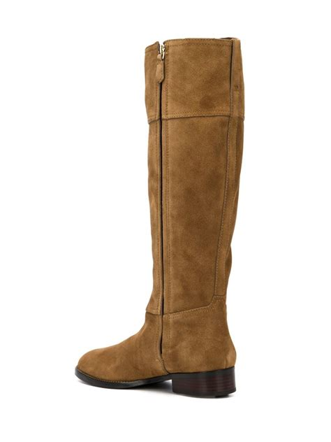 burch boots lyst burch wembley boots in brown