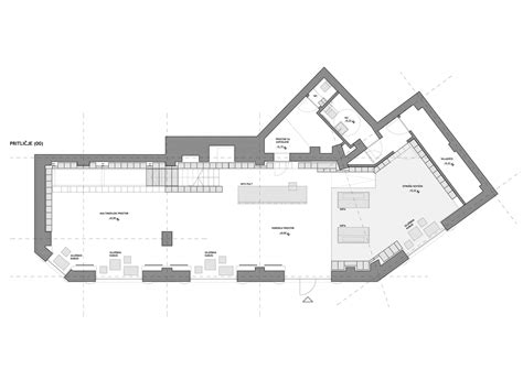 floor plan books gallery of slovenian book center in trieste sono