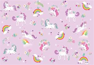 Jewelry Making Studio - wrapping paper unicorn and rainbow gift wrap birthday