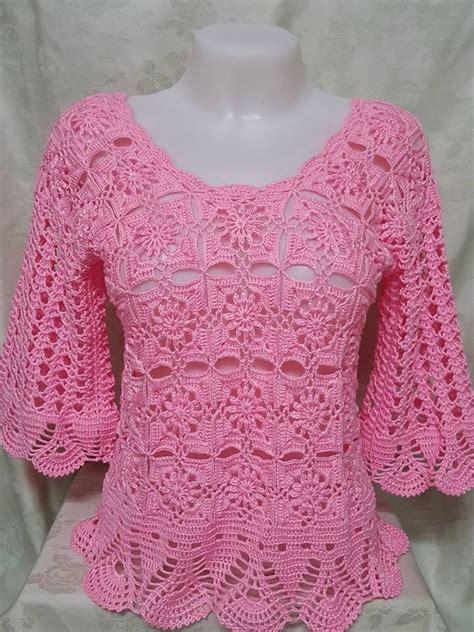 inspiration crochet blouse black from crochetemoda i adore this m 225 s de 1000 im 225 genes sobre blusas tejidas a crochet en