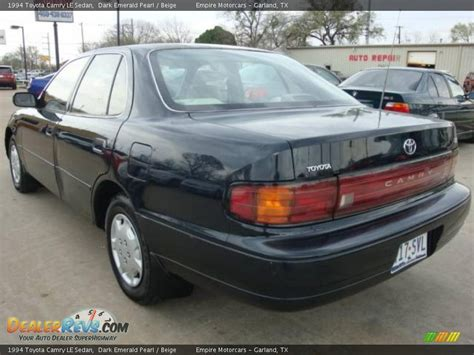1994 toyota camry sedan 1994 toyota camry le sedan emerald pearl beige