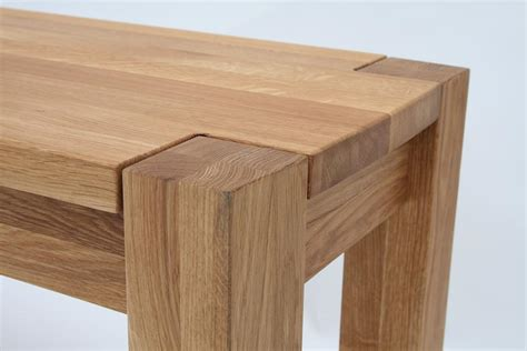 Oak Dining Table Bench Solid Oak Bench Oak Dining And Kitchen Oak Benches