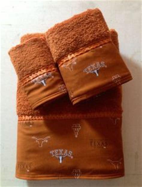 Hook Em Horns On Pinterest University Of Texas Longhorn Bathroom Accessories