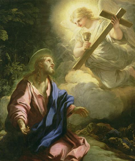 The Agony In The Garden by The Agony In The Garden Painting By Luca Giordano