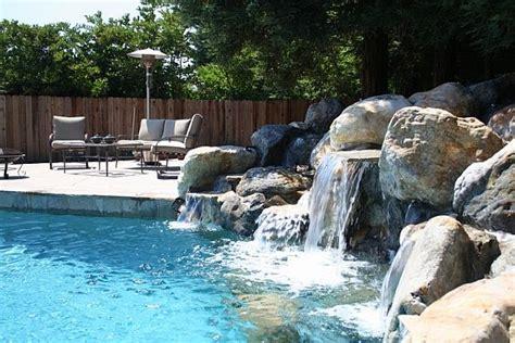 diy pool waterfall 4 home waterfalls ideas