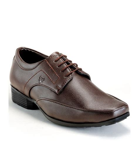 randier brown office wear formal shoes price in india buy
