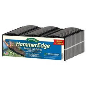 home depot edging dalen products 18 ft hammer edge edging e3 16b the home
