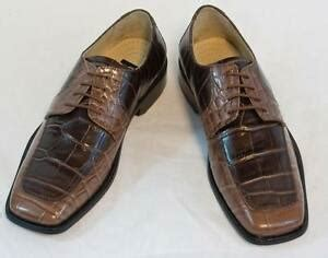 new fortune brown croco dress shoes by liberty laceup leather l 641 ebay