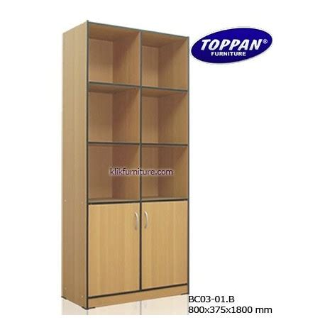 Rak Buku Big Panel rak buku minimalis bc 03 01b toppan agen furniture