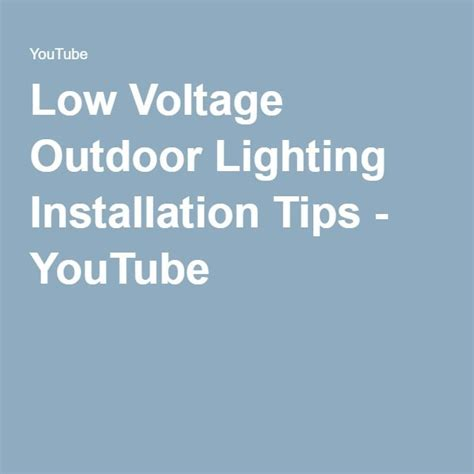 Low Voltage Landscape Lighting Installation Guide 17 Best Ideas About Low Voltage Outdoor Lighting On Pinterest Patio Wall Architectural