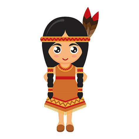 indian clipart indian clipart animated pencil and in color indian