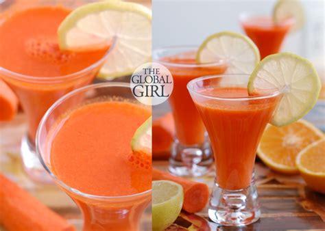 Carrot Juice Detox Diet by Menu