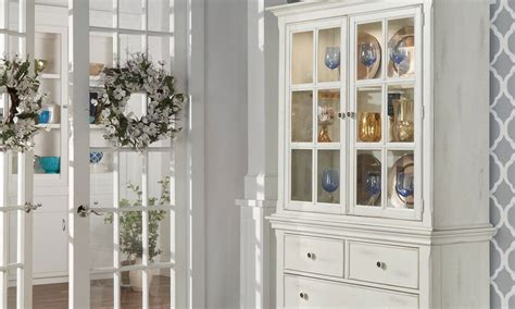 how to display crystal in china cabinet how to set up a china cabinet in 6 easy steps overstock com