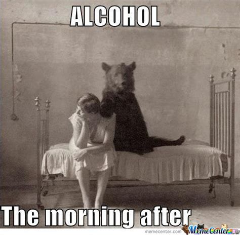 The Morning After Meme - funny bartending pics get a bartending job