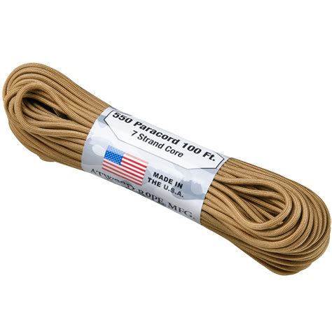 para 550 cord atwood rope 550 lbs para cord coyote everything else