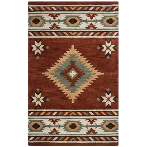 southwest rugs on sale southwest rust rug 8 ft