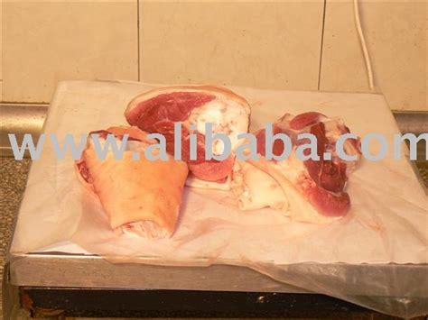 Frozen Pork Shelf by Frozen Pork Shank Bone In