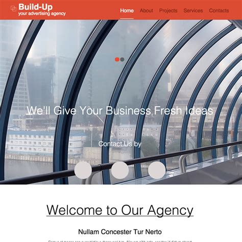 free responsive website templates for advertising agency advertising agency responsive website template
