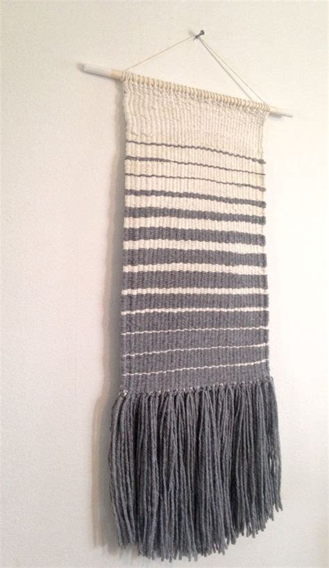 Knitting Pattern Wall Hanging | weaved wall hanging manual loom weaved wall by