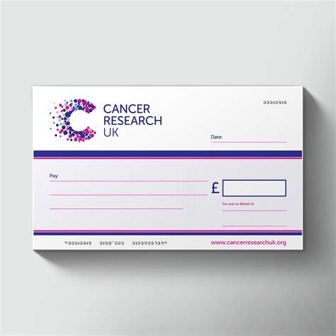 Order Large Reusable Laminated Charity Presentation Cheque Large Presentation Cheques